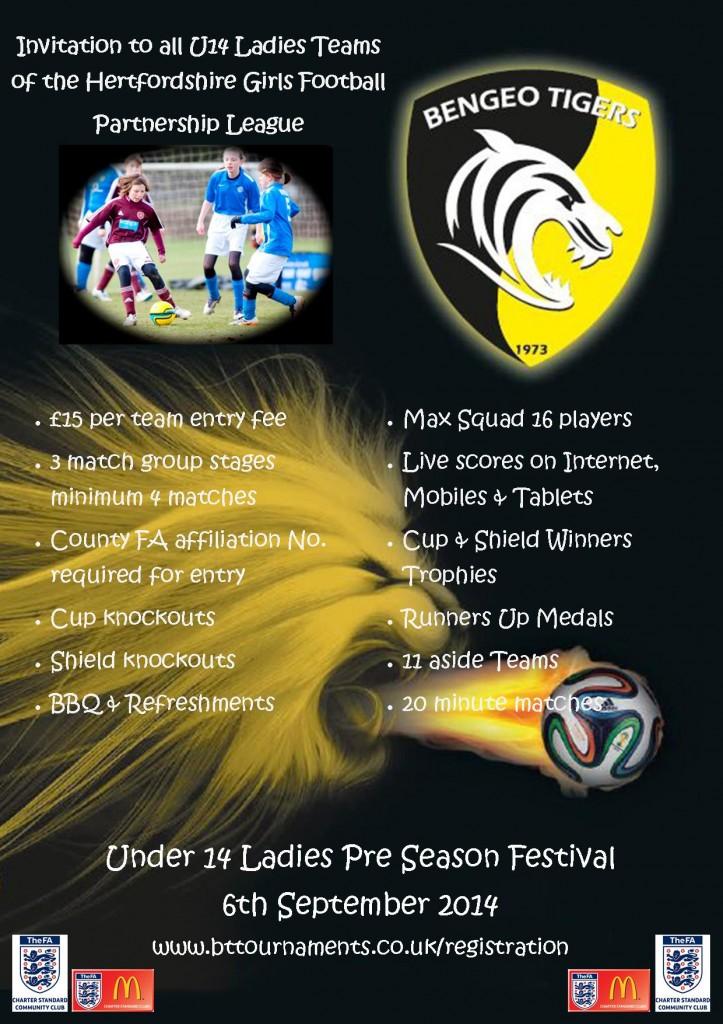U14 Ladies Festival 2014