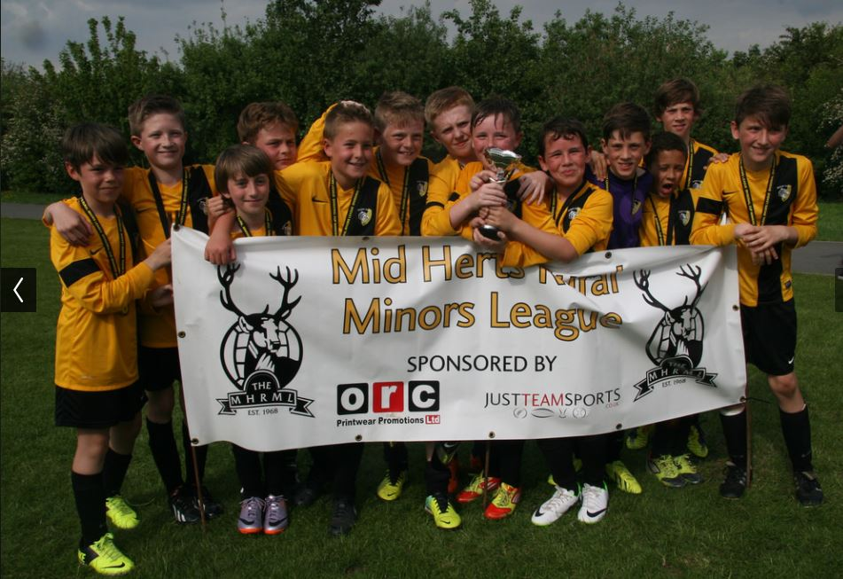 U11 Orange Division Cup Winners