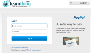 Pay using a paypal account or using your credit card.